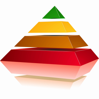 Pyramid with Colors