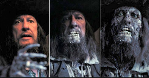 """Cena do filme """"Piratas do Caribe - A Maldição do Pérola Negra"""""""
